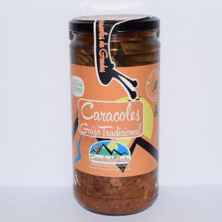 Bote caracoles guiso tradicional (Compra mínima 2 unidades. 8€/unidad+IVA)